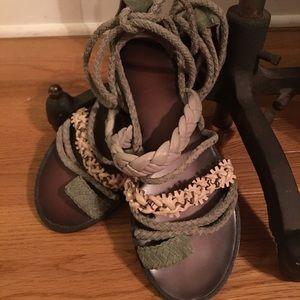 be8311de8846 Anthropologie Shoes - Anthropologie Bacio 61 Leini Sandals